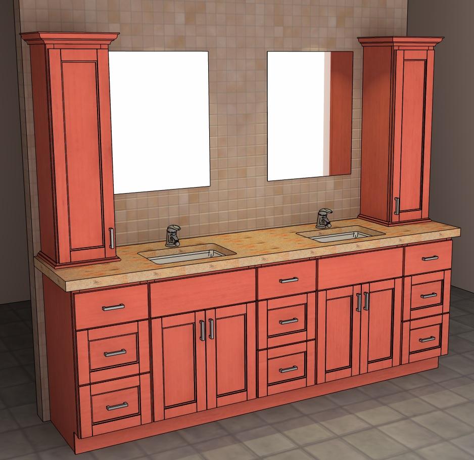 Semi Custom Bathroom Vanity: Bathroom Vanities