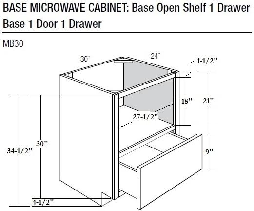 Shelf Microwave DimensionsBestMicrowave